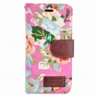 Country Style Flower Cloth Protective Full Body Case for IPHONE 6 4.7inch