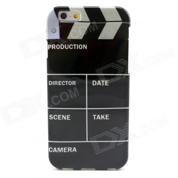 Movie Action Board Pattern Protective TPU Back Case for 4.7 IPHONE 6 - BlackPlastic Cases<br>Color Black Quantity 1 Piece Material TPU Shade Of Color Black Compatible Models Others4.7inch IPHONE 6 Design Graphic Style Back Cases Packing List 1 x Case<br>