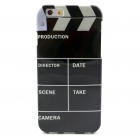 "Movie Action Board Pattern Protective TPU Back Case for 4.7"" IPHONE 6 - Black"