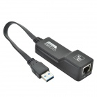 CHEERLINK CU003 1.2GHz 1000Mbps IEEE802.3/802.3u/ab USB 3.0 Gigabit Ethernet Adapter - Black