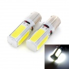 Marsing 1156 20W 1500LM 6500K 4-COB LED Cool White Car Reverse / Steering Light (12V / 2PCS)