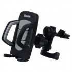 Baseus SUGENT-WD01 360' Rotation Car Air Outlet Mount Holder for Cellphone - Black