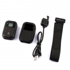 "PANNOVO 0.8"" LCD Water-resistant Wi-Fi Remote Controller Set for GoPro Hero 3+ / 3 - Black"