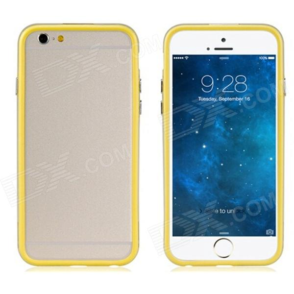 "Protective Plastic Bumper Frame for IPHONE 6 4.7"" - Yellow"