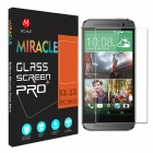 MO.MAT Miracle Pro213D 0.3mm 2.5D 9H Tempered Glass Screen Protector Film Guard for HTC One M8