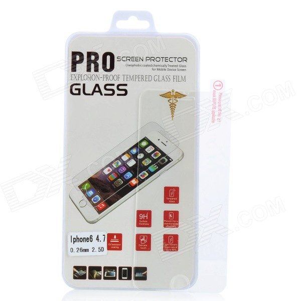 Pandaoo tvrzeného skla Clear Screen Guard pro iPhone 6 - Transparent