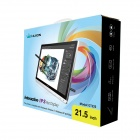 "HUION GT-220 21.5 ""Pen Display monitor gráfico w / Digital Pen para Profesionales - Negro + Blanco"