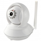 "SANNCE SN-IP7808HD 1.0MP 1/4"" CMOS P2P Network IP Camera w/ 10-IR-LED / Wi-Fi / TF - White"