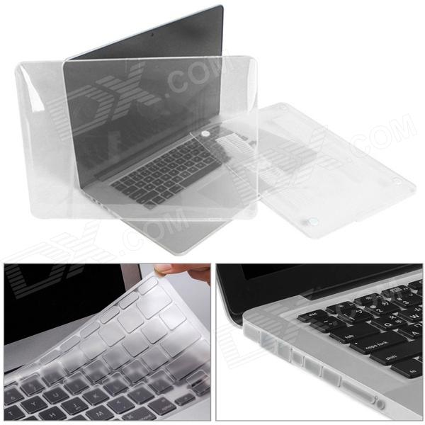 Mr.northjoe 10006 PC Full Body Case + KeyPlacaCover + Plugs Anti-poeira para Retina MacBook Pro 15.4 ""