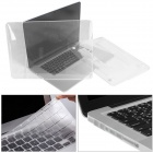 Mr.northjoe 10006 PC Full Body Case + Keyboard Cover + Anti-dust Plugs for Retina MACBOOK PRO 15.4""