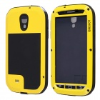 LOVE MEI Waterproof Shockproof Aviation Aluminum Alloy Case for Samsung Galaxy S4  /i9500 - Yellow