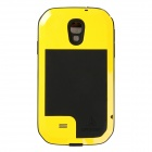 LOVE MEI Aviation Aluminum Alloy Case for Samsung S4 / i9500 - Yellow