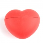 DIY Heart Shaped Silicone Ice Cube Maker Mold - Red