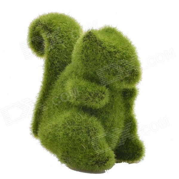NEJE ZJ0016-2 Grass Land Handmade Squirrel Style Artificial Turf - Green