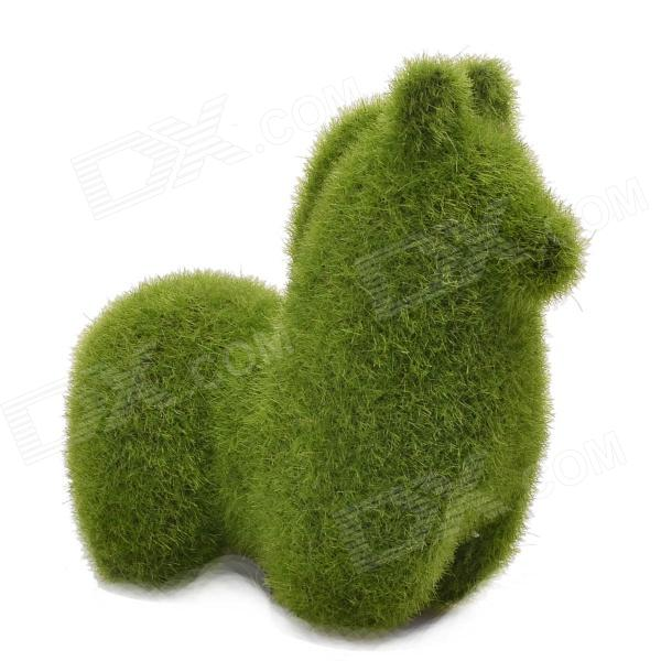 NEJE ZJ0016-3 Grass Land Handmade Alpaca Style Artificial Turf - Green
