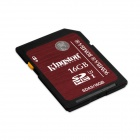Kingston SDA3 UHS-I SDHC Memory Card - Dark Red (16GB / Class 3)