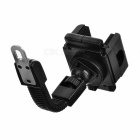 ZJ-33 Adjustable Mobile Phone ABS + Plastic Stand Holder for Motorcycle - Black