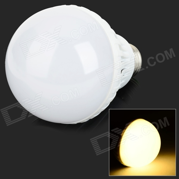 E27 12W 3500K 24-SMD 5730 LED Warm White Light Lamp Bulb (AC 220V) lexing lx qp 20 e14 6w 470lm 3500k 15 5730 smd led warm white light dimmable lamp ac 220 240v