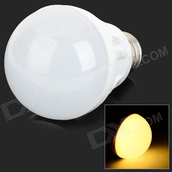 YouOKLight E27 330lm 3000K 12-5730 SMD LED Warm White Bulb - White (AC 220V)