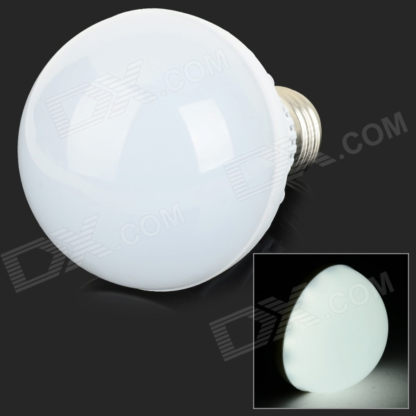 E27 7W 600lm 6500K 24-SMD 2835 LED White Light Induction Lamp (AC 220V)
