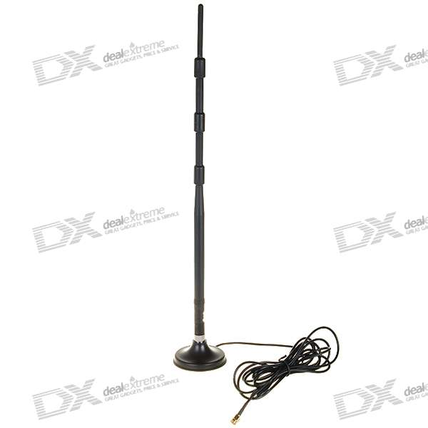 2.4GHz 13dBi SMA Omni Antenna with Stand for WiFi/Wireless Network (2400~2500MHz)