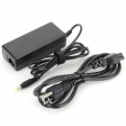 65W 18.5V 3.5A 4.8 x 1.7mm US Plug Power Adapter for HP - Black (100~240V / 120cm)