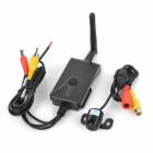 AV Wi-Fi Transmitter + Car Rearview Camera Set - Black