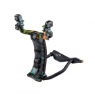 Hunting / Exploring / Defending Outdoor Sports Slingshot - Green + Black