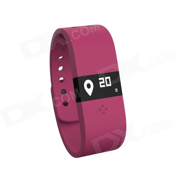 DIGICare Waterproof Bluetooth Pedometer w/ Sleep Monitor, Thermointegrator, Alarm, Message Prompt