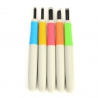 DIY Rubber Stamp SK5 Steel Carving Knife Set - White + Multicolored (5 PCS)