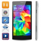 "Jiake V5 Android 4.2 Dual-core WCDMA Bar Phone w/ 5.5"" Screen, Wi-Fi, Bluetooth, FM - White + Black"