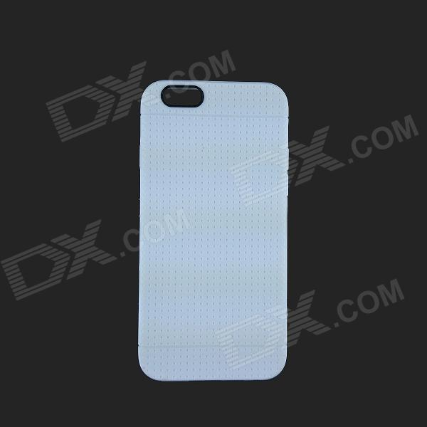 Protective TPU Back Case for IPHONE 6 - White devia 0 7mm ultra thin soft tpu gel cover for apple watch 38mm white