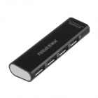 Stylish USB 2.0 4-Port HUB - Black