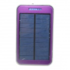 "ODEM S4-8 Solar Powered ""48000mAh"" External Li-ion Polymer Battery Charger Power Bank - Purple"