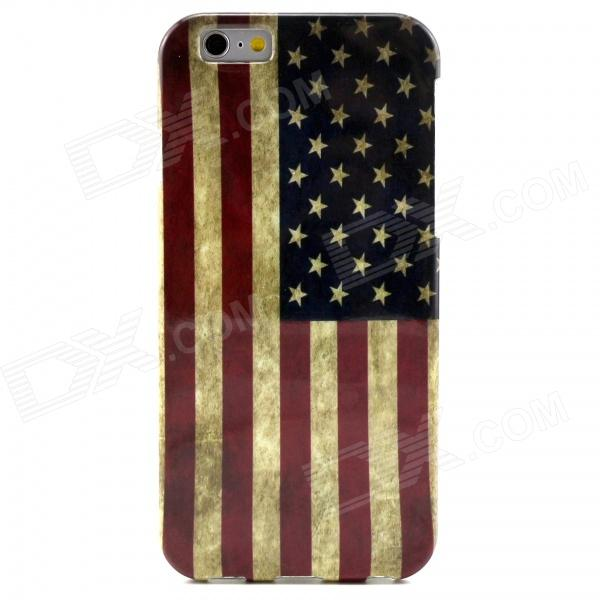 USA lippu kuvio TPU Soft Cover iPhone 6 4.7 tuuma