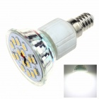 ZHISHUNJIA E14TC8W E14 8W 600lm 6000K White Light 16-SMD 5630 LED-Lampen-Birne (85 ~ 265V)