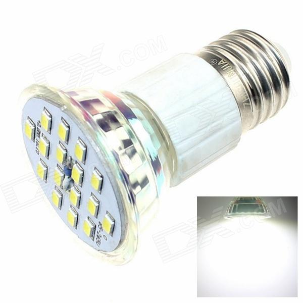 ZHISHUNJIA E27 8W 600lm 6500K 16-SMD 5630 LED White Light Ceramic Lamp Cup (AC 85~265V)