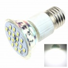 ZHISHUNJIA E27 8W 600lm 16-SMD 5630 LED Cool White Light Ceramic Lamp