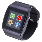 "AOLUGUYA S11 1.55"" Touch Screen Smart Watch Phone w/ Anti-Lost Bluetooth Pedometer - Black"