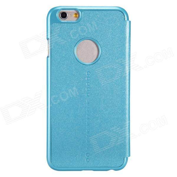 NILLKIN Star Series Protective PU Leather + PC Flip Open Case for 4.7'' IPHONE 6 - Light Blue nillkin star series protective case for moto g2 pink