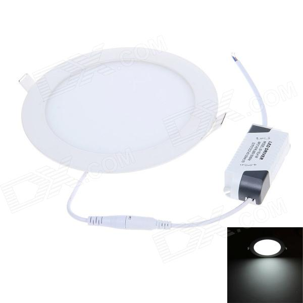15W 1200lm 6500K White Light 7'' Round Shaped LED Ceiling Lamp / Panel Lamp - White (AC 90~265V) best full spectrum 300w led cultivate light for hydroponics greenhouse grow tent led lamp suitable for all plant growth 85v 265v