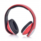 QY-990 Stylish Super Bass Headphones for Samsung / IPHONE - Red (120cm-Cable / 3.5mm Plug)