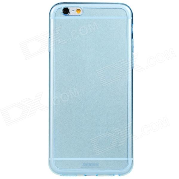 Remax Feather_B Protective Ultra-thin TPU Back Cover Case for 4.7'' IPHONE 6 - Translucent Blue