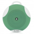 SLANG Round 3W Bluetooth V3.0 Multifunctional Speaker w/ Microphone, TF - Army Green