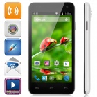 "W330 Android 4.4 Quad-Core WCDMA Smart Phone w/ 4.5"" Screeen, ROM 4GB, Wi-Fi, Bluetooth, GPS - White"