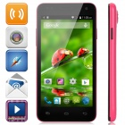 "W330 Android 4.4 Quad-core WCDMA Smart Phone w/ 4.5"" Screen, Wi-Fi, Bluetooth, GPS - Deep Pink"