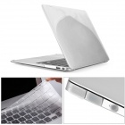"Mr.northjoe PC Full Body Case + Keyboard Cover + Anti-dust Plugs for MACBOOK AIR 13.3"" - Transparent"