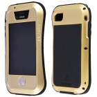 LOVE MEI AL01 Waterproof Shockproof Aviation Aluminum Alloy Full Body Case for IPHONE 4 / 4S
