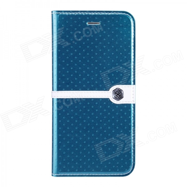 NILLKIN Ice Series Stylish Polka Dot Stitching Flip-open PU Leather Case w/ Stand for IPHONE 6 4.7