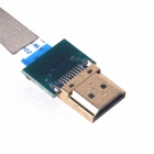 ZnDiy-BRY RC-50 FPV Shielding HDMI to Micro HDMI Cable for GoPro Hero 3 / 3+ - Silver (50cm)